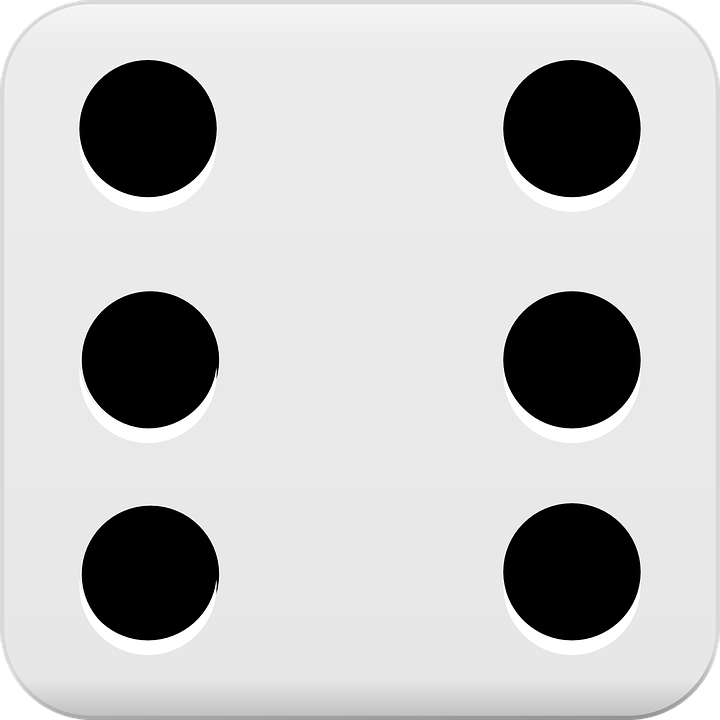 6 dice number clipart clip library Free vector graphic: Dice, Gambling, Play, Chance, Cube - Free ... clip library