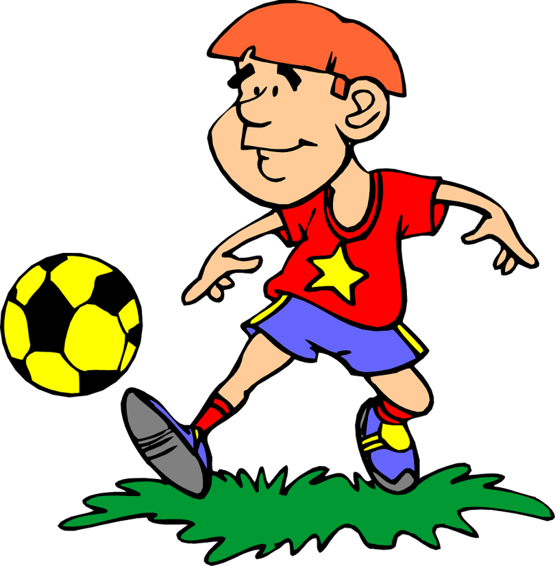 Friends playing football clipart image freeuse stock Best Sports for Young Children – KGEB image freeuse stock