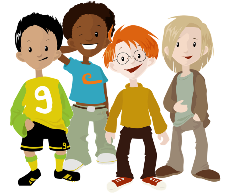 6 friends playing baseball clipart png free download Friends Clipart Free Images & Photos Download【2018】 png free download