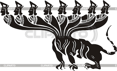 Monster tattoos | Stock Photos and Vektor EPS Clipart | CLIPARTO / 3 picture library stock