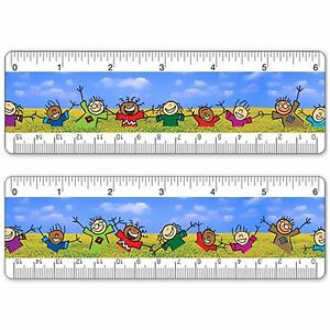 6 inch ruler clipart svg royalty free Details about Ruler Bookmark 6 Inch Animated Lenticular Children Dancing in  Field #RU06-255# svg royalty free