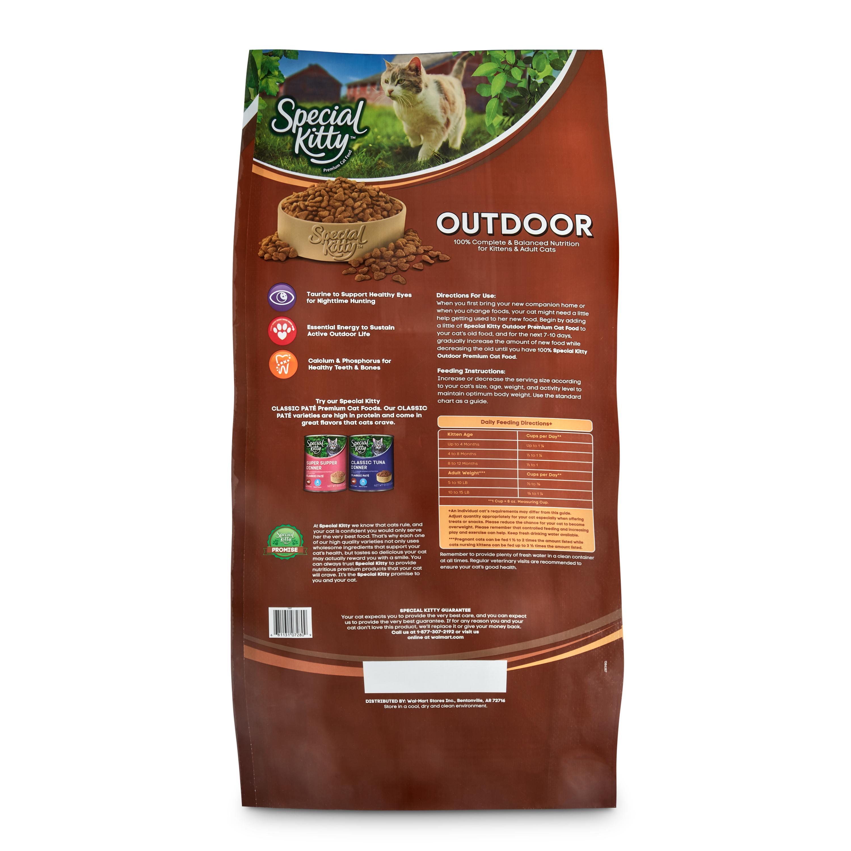 6 lb 9 oz clipart vector Special Kitty Outdoor Formula Dry Cat Food, 44 lb - Walmart.com vector