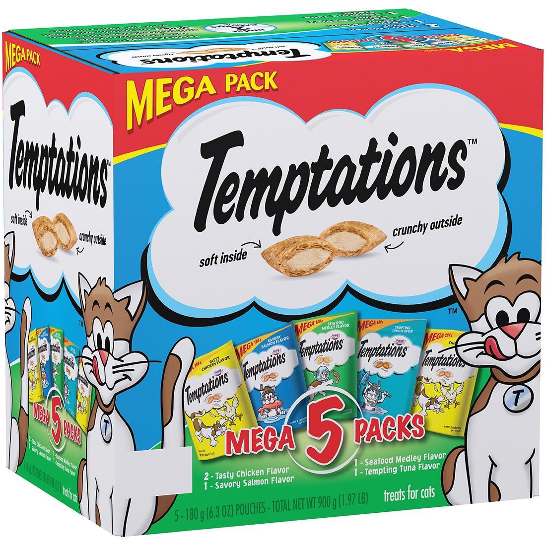 6 lb 9 oz clipart banner royalty free Whiskas Temptations Cat Treats Mega Pack, 5 ct./6.3 oz. banner royalty free