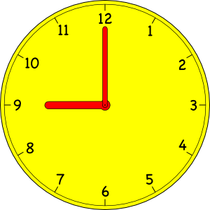 6 o clock clipart graphic royalty free Clock Clip Art at Clker.com - vector clip art online, royalty free ... graphic royalty free