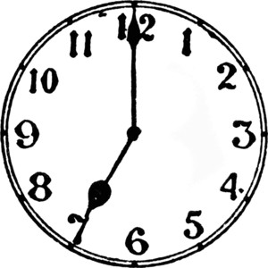 6 o clock clipart image library 5 o clock clipart - ClipartFox image library