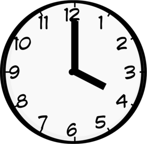 6 o clock clipart clipart free 6 o clock clipart - ClipartFest clipart free