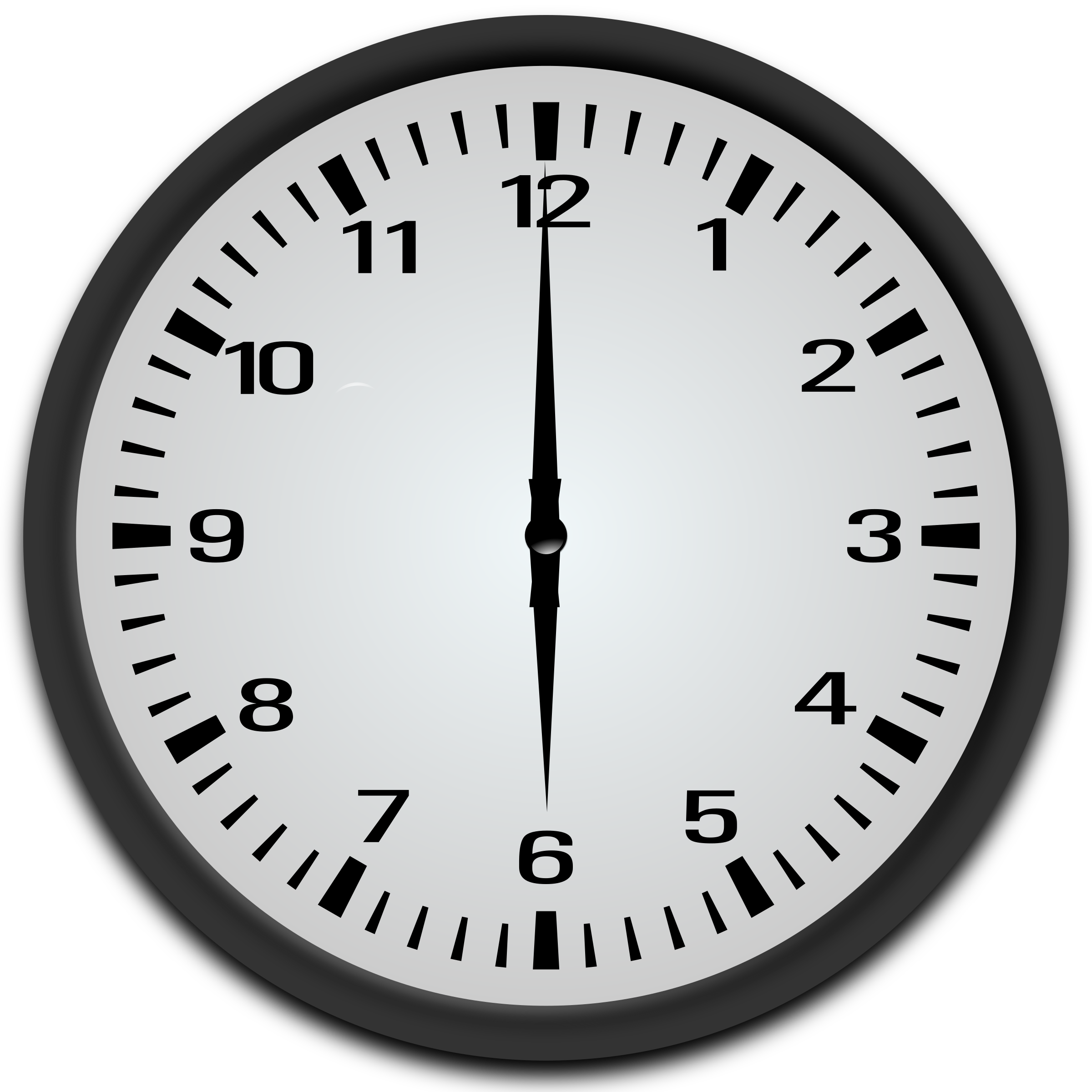6 o clock clipart svg freeuse library Clipart - 6 o'clock svg freeuse library