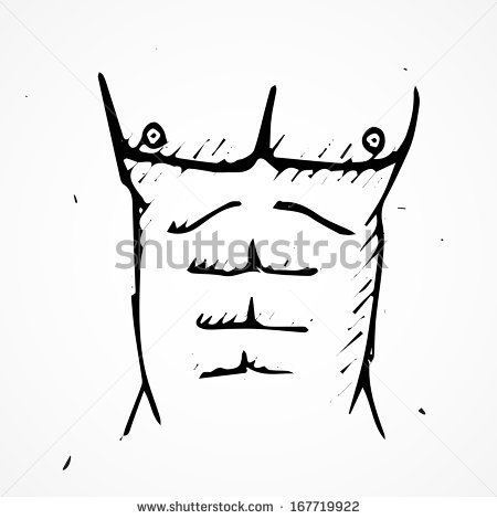 Gallery for six abb. 6 pack abs clipart