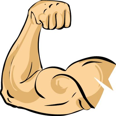 Muscle Arm Clip Art - 6 Pack Abs Are Still Possible This Summer ... jpg freeuse library