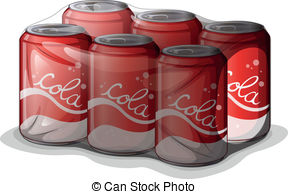6 pack of soda clipart graphic transparent Six pack cans. An image of a six pack of cans. graphic transparent