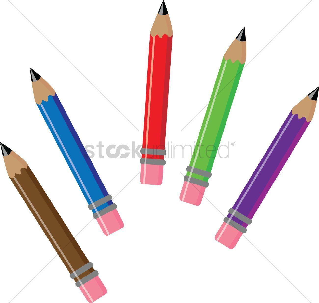 6 pencils clipart clip freeuse library 5 pencils clipart 6 » Clipart Portal clip freeuse library