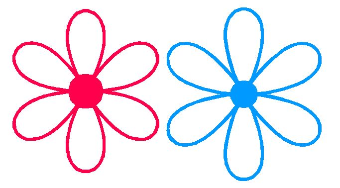 6 petal flower clipart.  template cliparts co