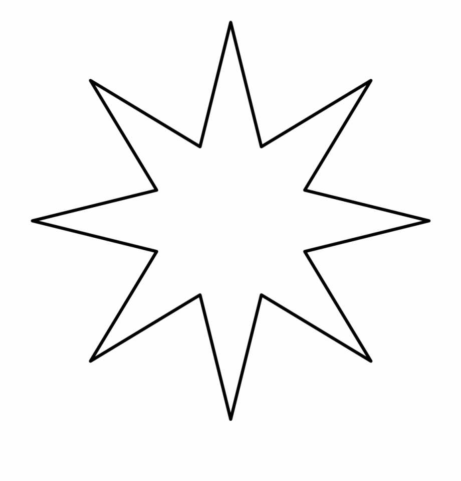 6 point star shape clipart banner royalty free library 8 Point Star Black Void - Eight Pointed Star Png Free PNG Images ... banner royalty free library