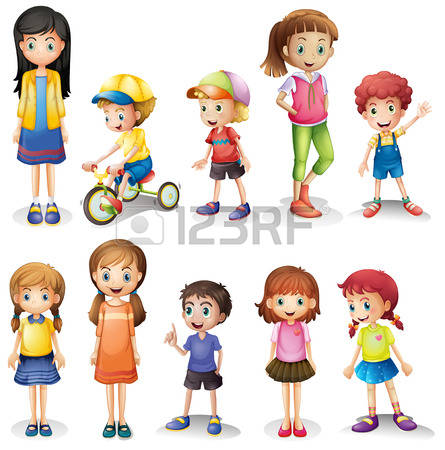 6 siblings clipart.  sibling cliparts stock