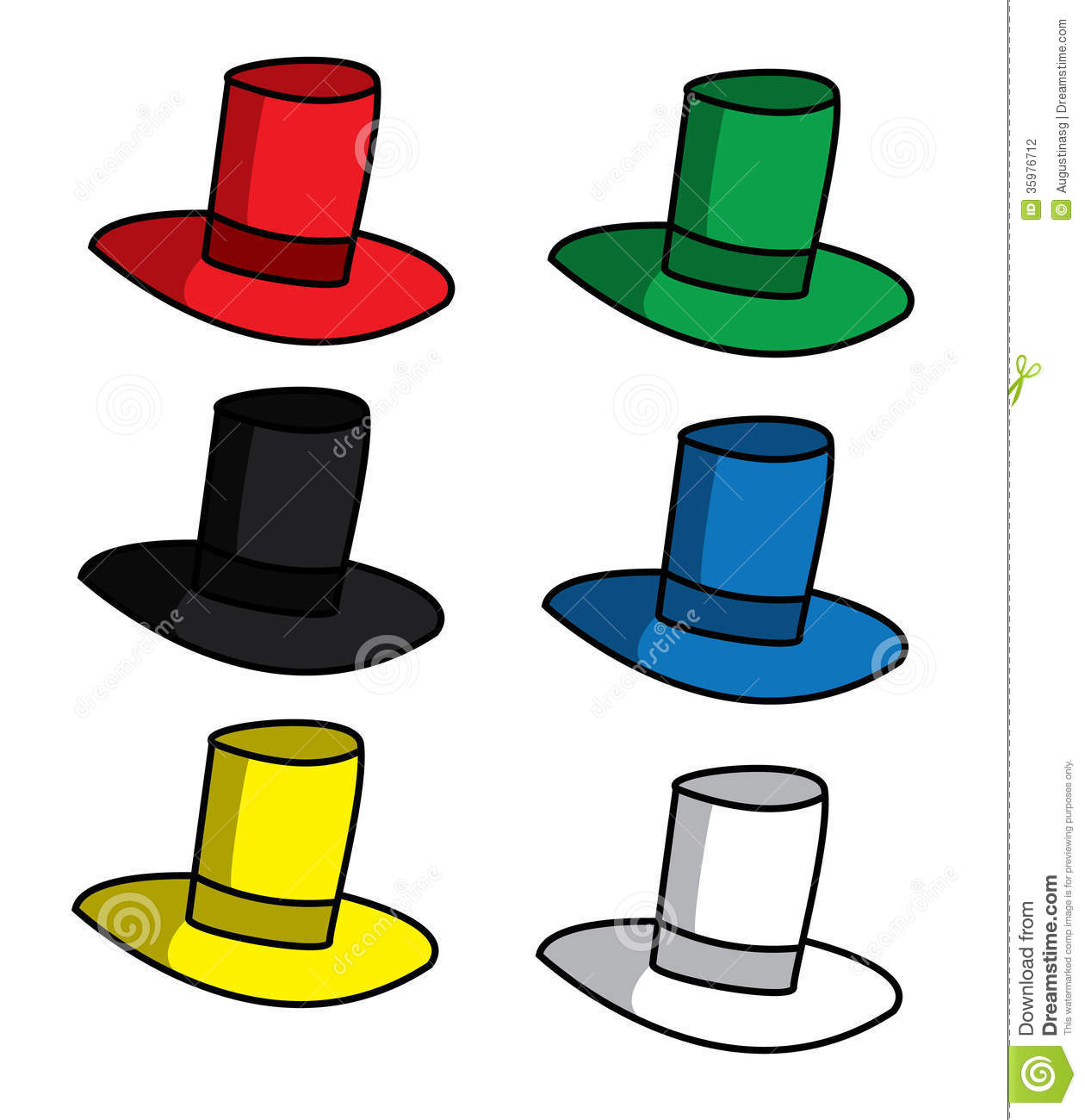 6 thinking hats clipart transparent download Thinking hat clipart - ClipartFest transparent download