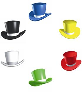 6 thinking hats clipart banner free download About the six thinking hats banner free download