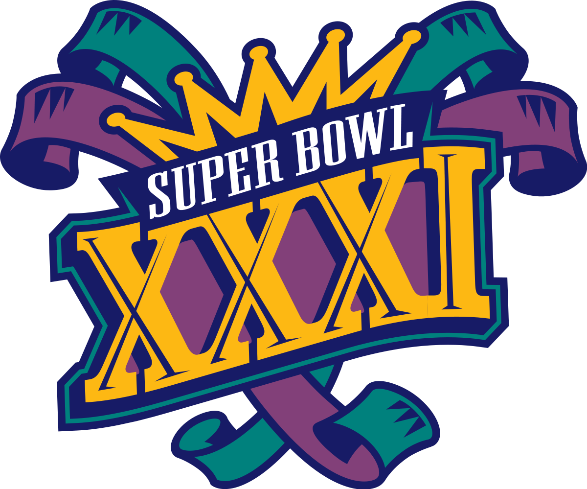 The super bowl 2017 big game pictures clipart image black and white download Super Bowl XXXI - Wikipedia image black and white download