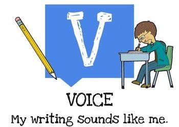 FREE VOICES 6 Trait Writing Menu Headings | Writing | Pinterest ... jpg transparent