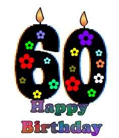 60th birthday clipart outline - ClipartFest clipart black and white stock