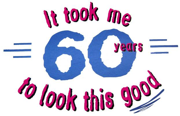 Free 60th birthday clip art - ClipartFest jpg library