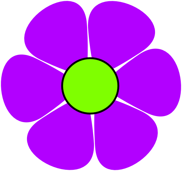 60's flower power clipart picture transparent Flower Power Purple Clip Art at Clker.com - vector clip art online ... picture transparent