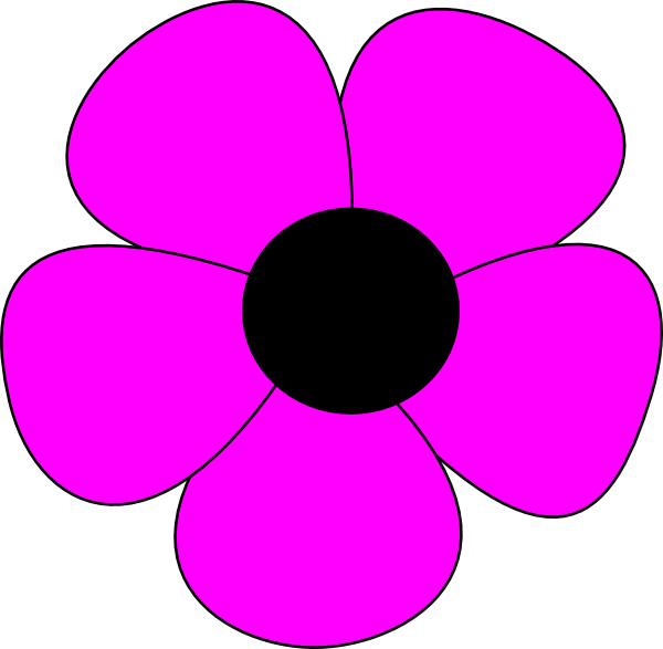 Flower clipart simple. Free easy cliparts download
