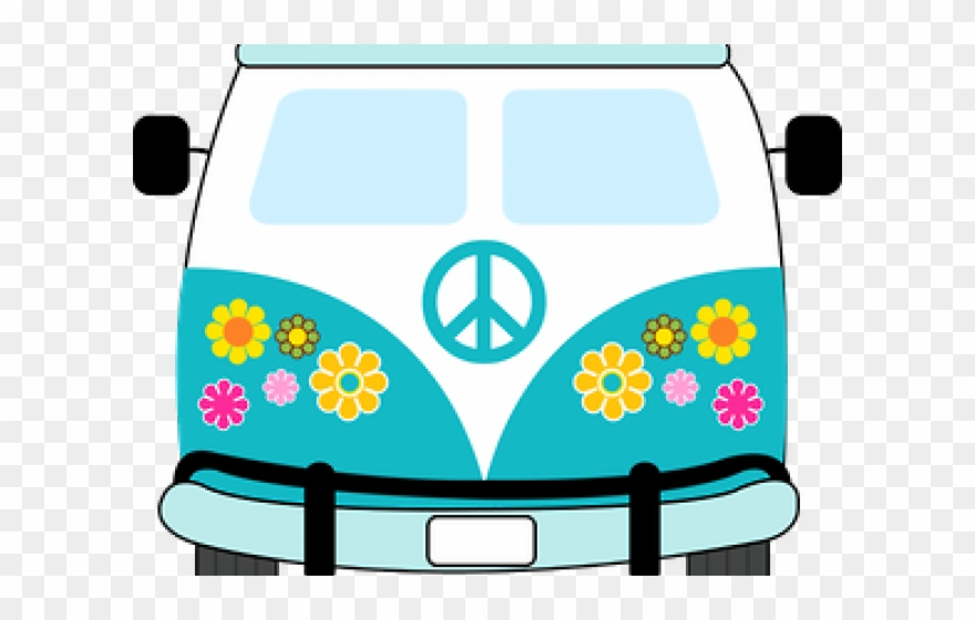 Hippie images clipart picture royalty free library Hippie Clipart Volkswagen - Png Download (#2952911) - PinClipart picture royalty free library
