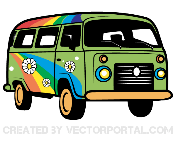 Vw bus hippie clipart svg freeuse Vw Clipart | Free download best Vw Clipart on ClipArtMag.com svg freeuse