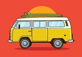 60s vw bus clipart png stock Vw Bus Free Vector Art - (1,479 Free Downloads) png stock