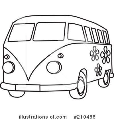 60s vw bus clipart clip art Groovy Bus Clipart | 2016 Book Fair Ideas GROOVY | Cars coloring ... clip art