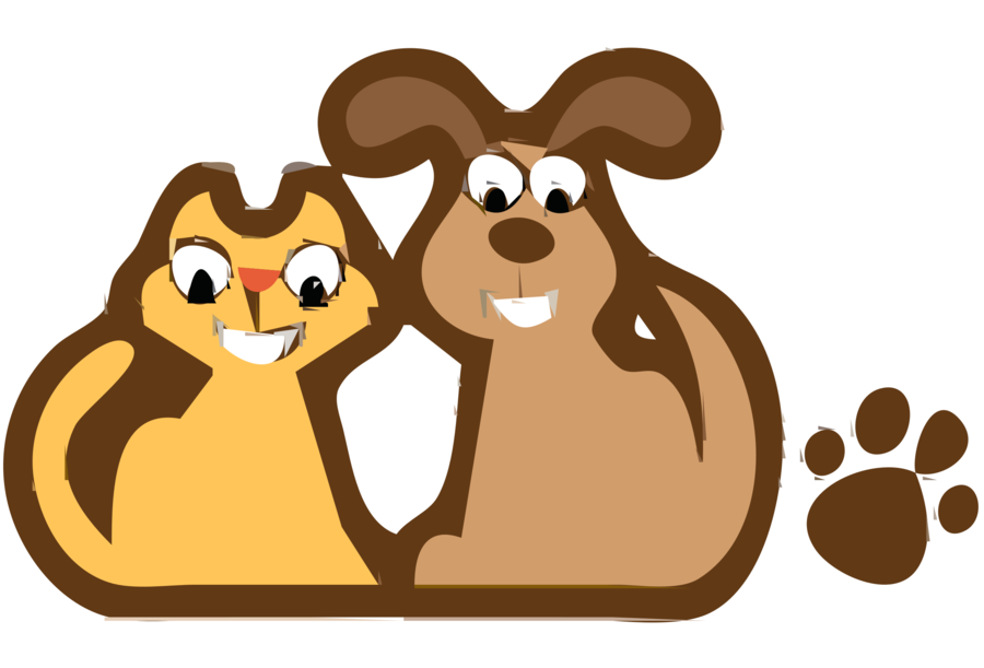 611 clipart banner royalty free Dog Cat Clipart 13 - 900 X 611 - Making-The-Web.com banner royalty free