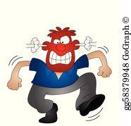 Upset person clipart transparent download Tempest Clip Art - Royalty Free - GoGraph transparent download