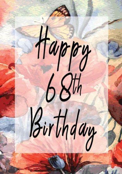 68th birthday clipart
