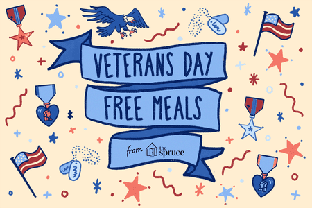 69 95 plus tax clipart vector black and white download 95 Restaurants Having Veterans Day Free Meals In 2019 vector black and white download