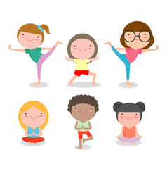 69 position clipart image library library Kids Yoga Pose Sit Vector Images (69) image library library