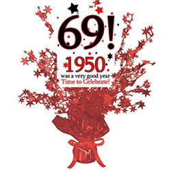 69th birthday clipart