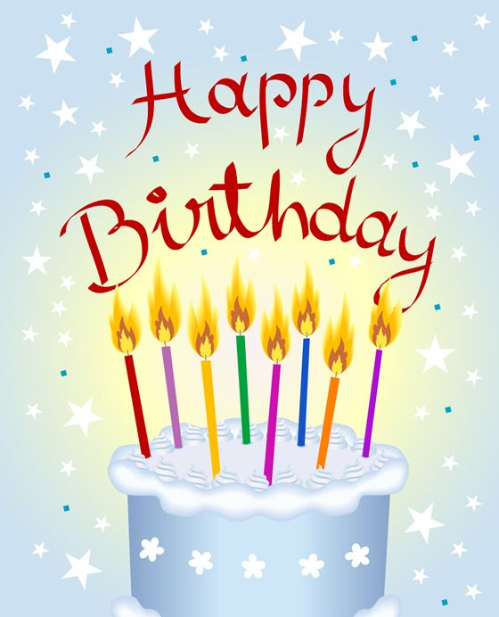 Happy birthday card clipart png stock happy birthday clip art | Happy Birthday today to my Hubster and my ... png stock