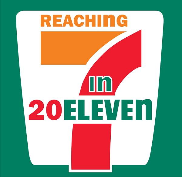 7 11 logo clipart vector freeuse download 7-11 Outreach Logo | Free Images at Clker.com - vector clip art ... vector freeuse download