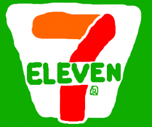 7 11 logo clipart image transparent download 7/11 - Drawception image transparent download