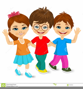 7 children clipart svg royalty free library School Children Walking Clipart | Free Images at Clker.com - vector ... svg royalty free library