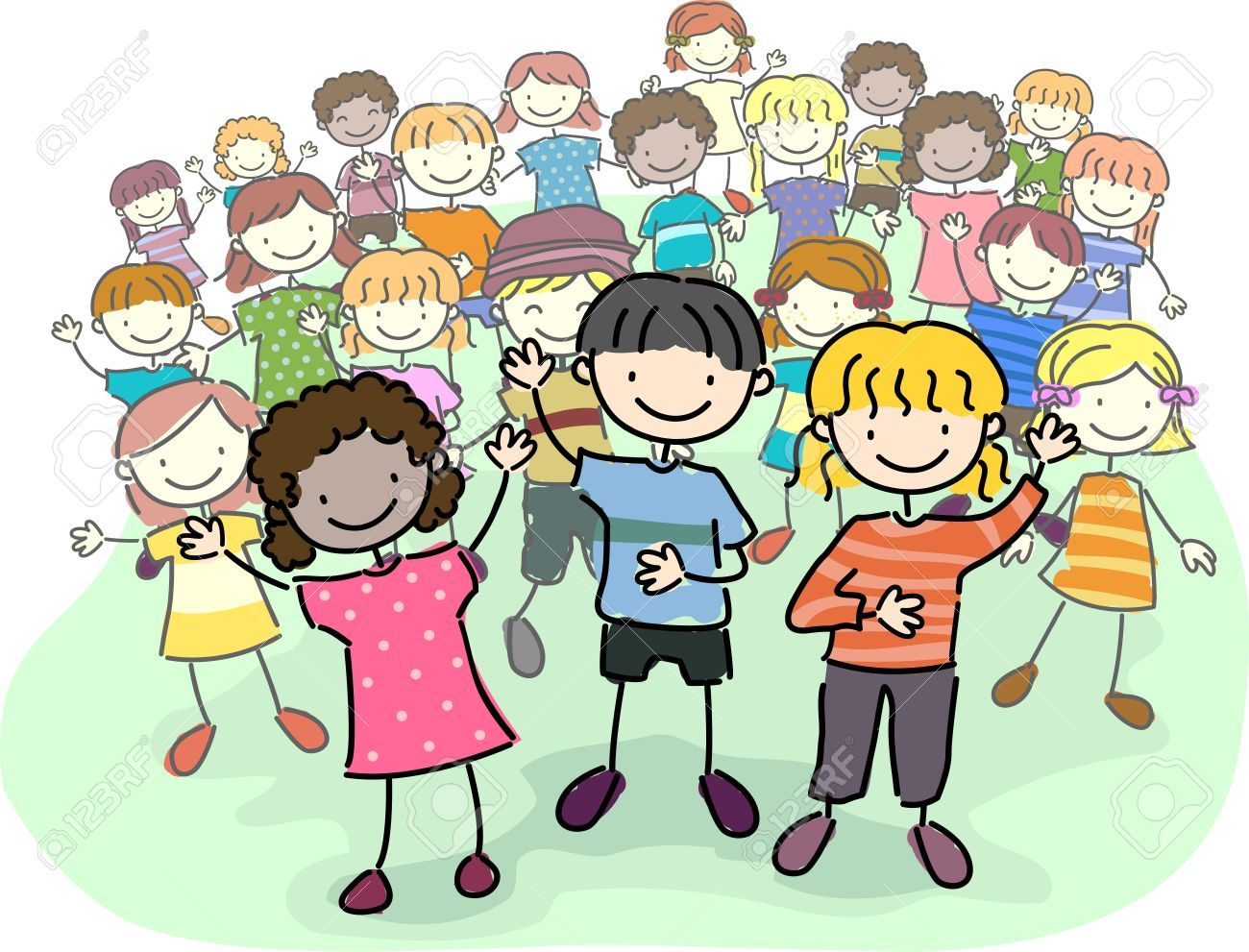 7 children clipart jpg transparent download Crowd of children clipart 7 » Clipart Portal jpg transparent download