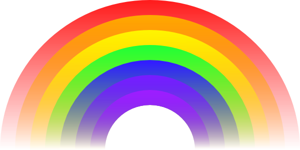 Clipart rainbow pictures