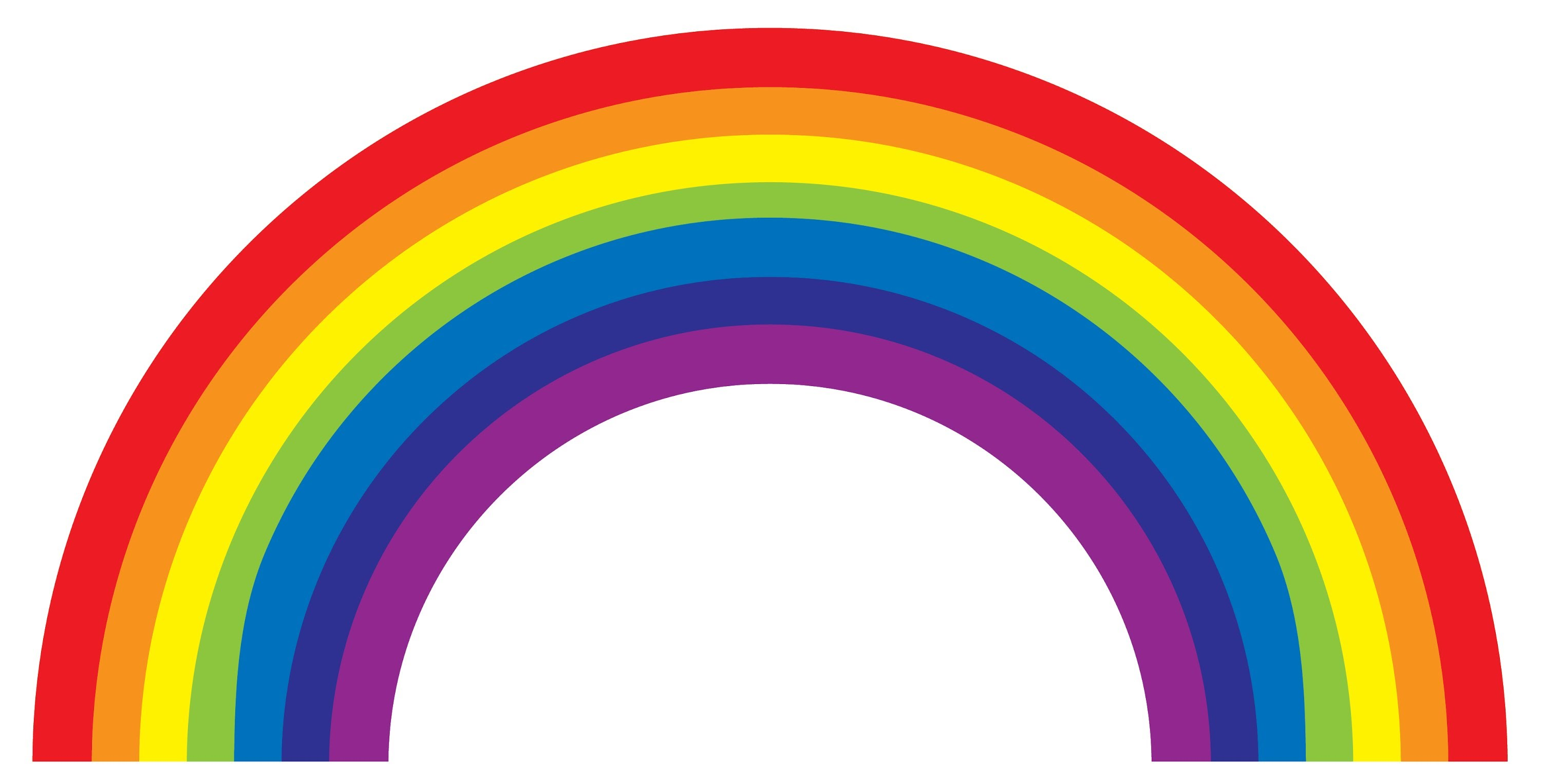 7 colored clipart rainbow jpg black and white Pictures Of The Rainbow | Free download best Pictures Of The Rainbow ... jpg black and white