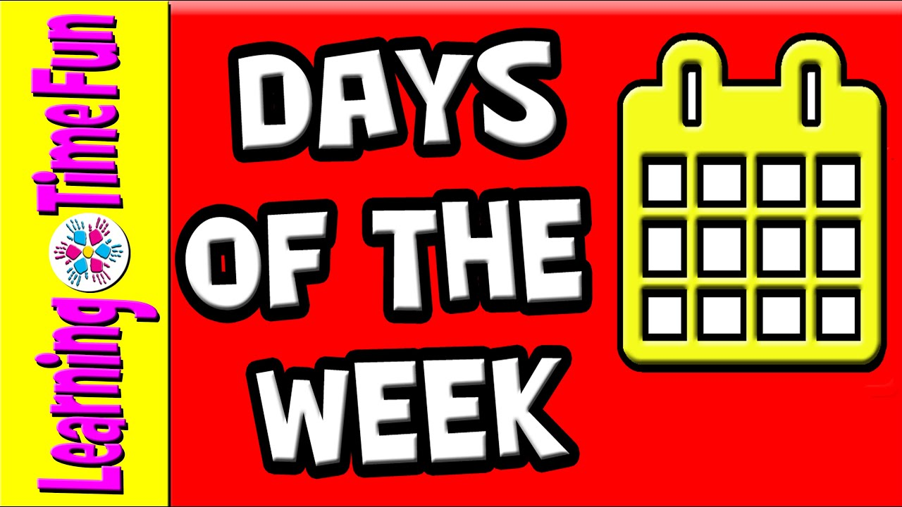 7 days of the week clipart clip library download Days of the Week | 7 Days | Days of Week | Week Days | Days in English |  Seven Days clip library download