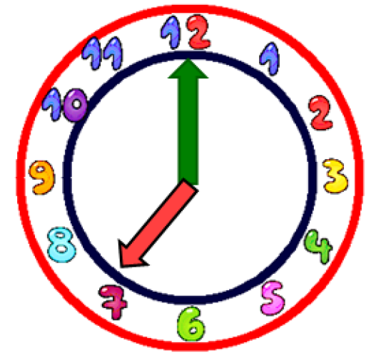 7 o clock clipart image library 7 O Clock Clipart - Clip Art Library image library