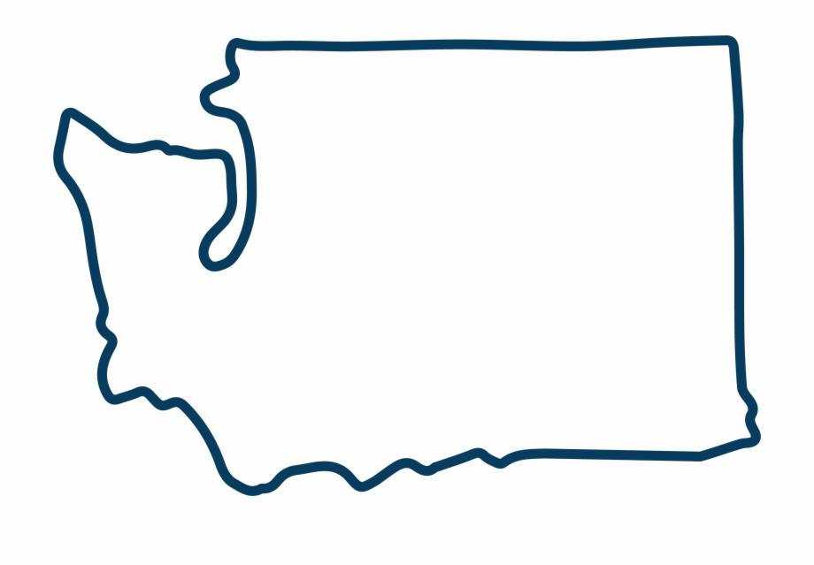 7 outline clipart clip art download Washington State Outline Blue2 Clipart , Png Download Free PNG ... clip art download