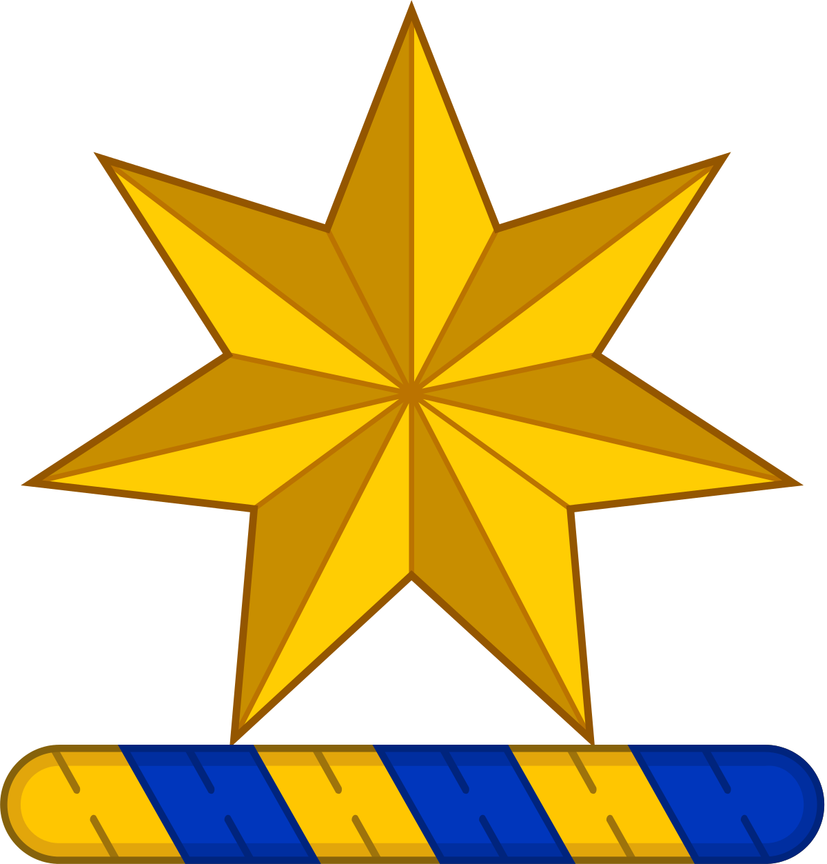 7 point star clipart image free download Commonwealth Star - Wikipedia | badges charges etc | Pinterest ... image free download
