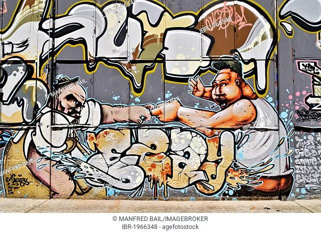 7 rings graffiti clipart picture freeuse download Graffiti theater halle Stock Photos and Images | age fotostock picture freeuse download