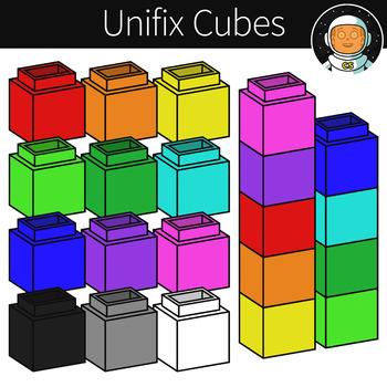 7 unifix cubes clipart vector transparent Unifix Cube Clipart Worksheets & Teaching Resources   TpT vector transparent
