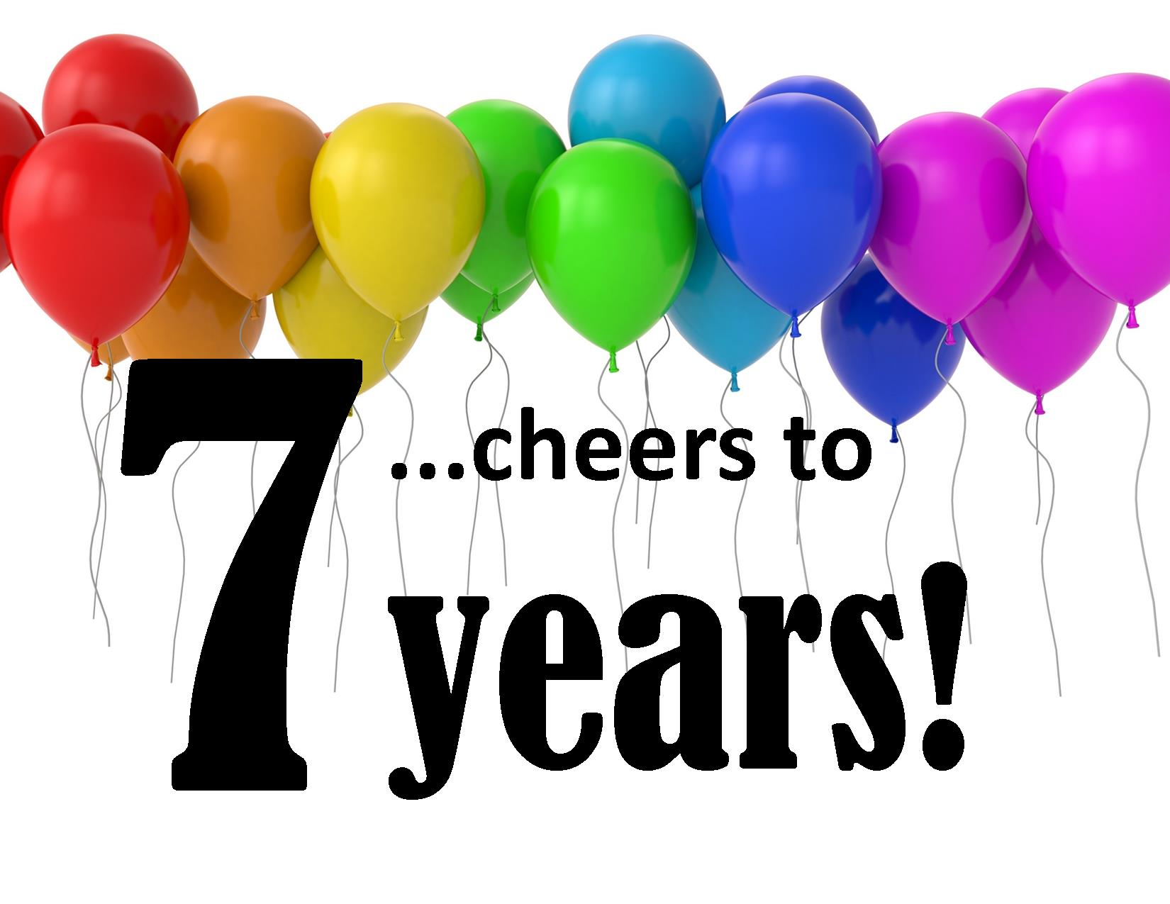 7 years clipart picture stock 7 Year Anniversary Clipart | Clipart Panda - Free Clipart Images picture stock